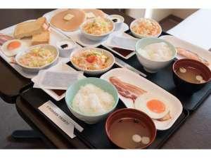 静鉄ホテルプレジオ 静岡駅北:朝食は和洋4種類の中からお選びいただけます