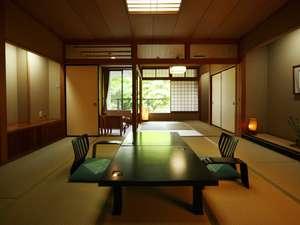雨情の宿 新つた:福寿館例12.5帖+6帖例