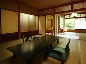 雨情の宿 新つた:福寿館12.5帖+6帖例