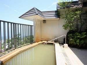 伊香保温泉 ホテル金太夫:伊香保の町を見わたせる絶景露天風呂
