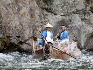 鬼怒川を船で下る!「鬼怒川ライン下り」乗船場まで徒歩5分。※当館のフロントで当日予約可