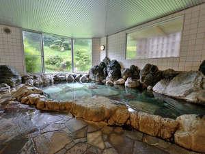 宇部72アジススパホテル:*日本庭園を望む露天風岩風呂ラジウム温泉でリフレッシュ