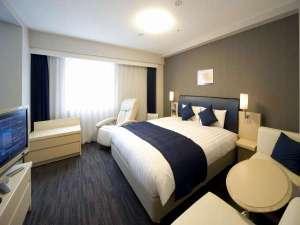 ダイワロイネットホテル新横浜:★★広いお部屋にワイドなベッド ゆったり寛げるデラックスルーム♪★★