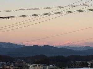 夕暮れ 飛騨山脈 原山市民公園より 徒歩3分