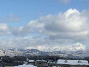 飛騨山脈 原山市民公園より 徒歩3分
