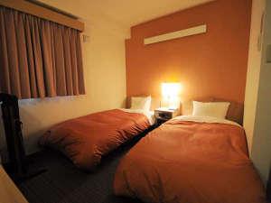 旭川サンホテル:【ツイン】疲れを癒してぐっすりお休みください。