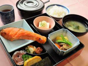 旭川サンホテル:【朝食】焼き魚定食の和朝食