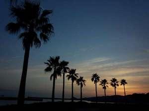 旅館 網元:印通寺公園からの夕景