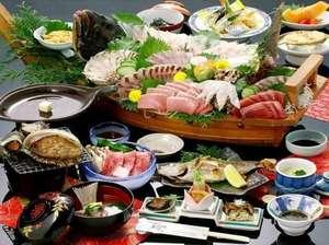 旅館 網元:素材にこだわり、素材を見極め、素材を活かす、割烹網元のお食事。