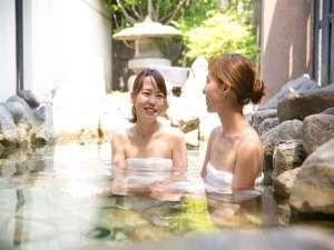 和の宿 夢月(なごみのやど むつき):~貸切湯には露天タイプもあります