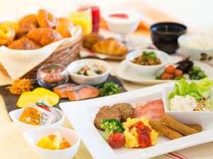 ベッセルイン福山駅北口:種類豊富な朝食ビュッフェ♪