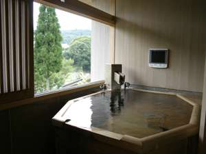客室露天風呂の画像