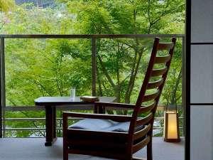 湯宿 嵯峨沢館:広縁より狩野川を見下ろす
