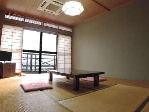 サンライズ城が浜:*おまかせ和室(9.5畳~12畳)/お部屋の向きにより海を一望できます!