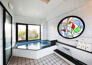 博多の宿 旅館まいだし:大浴場(4階)_どなたでも利用可能です。ご利用時間はお尋ねください