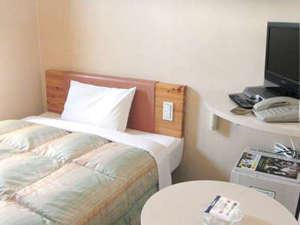R&Bホテル熊谷駅前:全客室地デジ対応液晶テレビ導入!より機能的な客室で快適にお休み下さい。