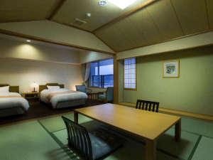 レイクサイド北潟湖畔荘:●和洋室