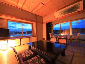 あわら北潟温泉 湖畔荘 hanaゆらり:●特別室 記念日など特別な日におすすめです♪