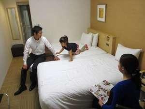 静鉄ホテルプレジオ 静岡駅南:ファンクションシングル(エクストラ仕様)家族イメージ