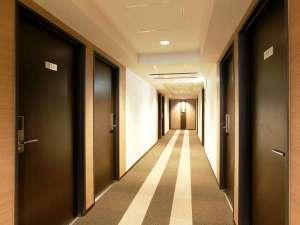 静鉄ホテルプレジオ 静岡駅南:客室階通路