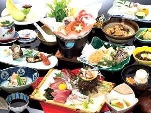国民宿舎 壱岐島荘:グルメプラン「潮彩」コース料理