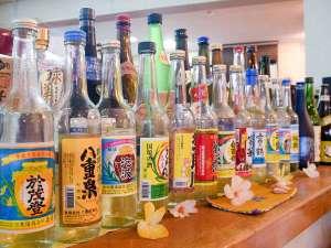 villa西表(ヴィラ西表):*お酒各種/とにかく豊富な種類が自慢!美味しい泡盛をたくさん取り揃えてお待ちしています!