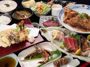 villa西表(ヴィラ西表):*夕食一例「車海老懐石」