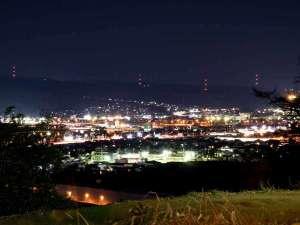天守閣の宿 北橘温泉 たちばなの郷 城山:*景観/利根川が流れ、前橋・渋川市街が一望できる立地に当館はございます。