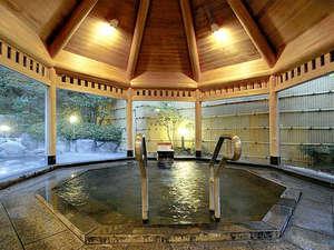 白浜温泉 湯処むろべ:【大浴場】白浜温泉の中でも上質な≪甘露の湯≫はとろみのあるお湯でお肌がつるつるに!