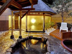 白浜温泉 湯処むろべ:【露天風呂】お風呂は24時間入浴OK♪上質な≪甘露の湯≫を露天風呂でお愉しみ下さい。