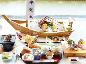 磯料理・海辺の湯の宿平鶴(ひらつる):お料理