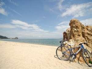 瀬戸内の水軍浪漫をたどる宿 汐の丸:汐の丸でサイクリングを満喫♪
