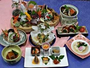 あしずり温泉郷 ホテル足摺園:「期間限定」さくら会席…地元「貝」を使った「貝鍋」はおススメです。