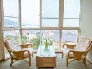 熱海紅楼:部屋から眺望
