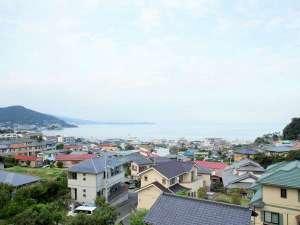 熱海紅楼:部屋から見えた風景