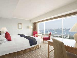 神戸メリケンパークオリエンタルホテル:【オーシャンフロントView】スタンダードプラス プレミアツイン