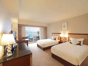 神戸メリケンパークオリエンタルホテル:・みなとまちView アウトドアリビングツイン 7階