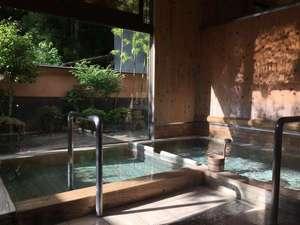 板室温泉 大黒屋:ひのきの湯