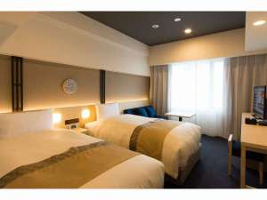 ホテルグレイスリー京都三条:南館スタンダードツイン