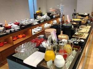 ホテルグレイスリー京都三条:レストラン:朝食バイキング