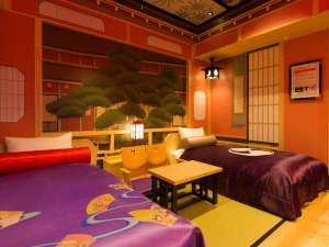 ホテルグレイスリー京都三条:南館歌舞伎ツインルーム/松の間(C)SHOCHIKU