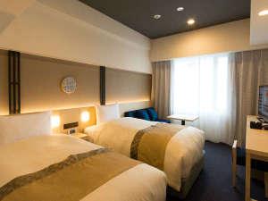 ホテルグレイスリー京都三条:南館ツインルーム/24平米/110cm幅シングル*2