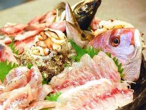 カントリーインギャレー:地魚お刺身!