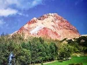 昭和新山ユースホステル:特別天然記念物に指定されている昭和新山