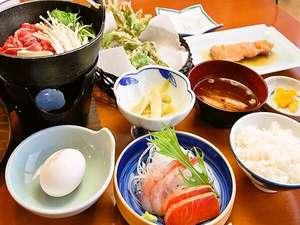 昭和新山ユースホステル:夕食の一例