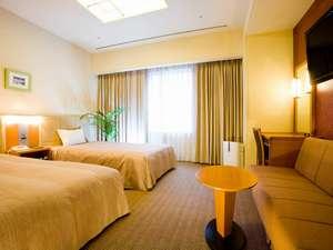KKRホテル梅田(国家公務員共済組合連合会大阪宿泊所):ツイン24㎡【ベッド幅113cm・3名利用可】