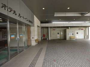 ホテルルートイン盛岡駅前:併設のタワー駐車場です。