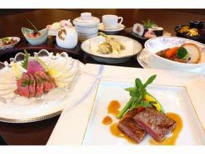 """彦根グランドデュークホテル:日本3大和牛の一つ近江牛をご堪能いただける""""近江牛づくし会席"""""""