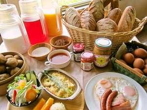 リゾートイン ノースカントリー:北海道産こだわり朝食 イメージ