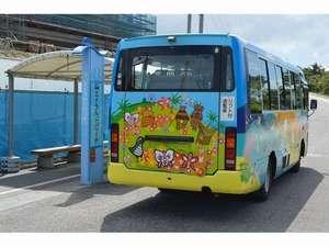 海洋博公園の遊覧車。エメラルドビーチバス停はホテル目の前。